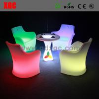 Wholesale Bar chair with LED lighting for club GF111 light furniture plastic Led furniture bar Chair from china suppliers