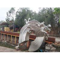 Wholesale Large Modern Abstract Sculpture Stainless Steel Public Commercial Decoration from china suppliers