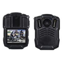 Wholesale 128GB 4G Body Worn Camera Police Body Worn Video Camera , Black from china suppliers