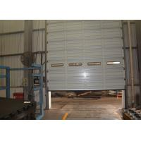 Wholesale Tough performance single board sectional overhead door with steel material from china suppliers