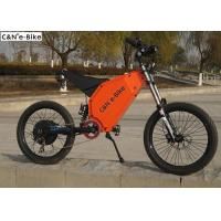 Wholesale Electric Mountain Bike / Road Bike Computer LCD Display 19 Inch 5000w 26Ah Lithium Battery from china suppliers