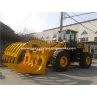 Wholesale 5 Tons Loading Capacity Wheeled Front End Loader 857 Model with Grass Grapple Cummins Engine for Option from china suppliers