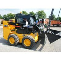 Wholesale Bobcat Attachments Full Hydraulic Compact Wheel Loader , 70HP Power Loader Skid Steer from china suppliers