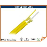 Wholesale Two 900 Micron Buffer Fiber Optical Cable Round Type Duplex Zipcord 2.0 mm Jacket from china suppliers