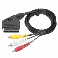Buy cheap 21 Pin SCART to 3 RCA Plug Cable from wholesalers