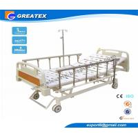 Wholesale Motorized Three Function Electric Hospital Bed Rental , Nursing Home Rotating hospital bed from china suppliers