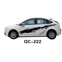 Wholesale Environment-friendly PVC & Ink Custom Car Body Sticker QC-222K from china suppliers