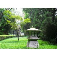 Wholesale outdoor stone garden lantern,stone lamp from china suppliers