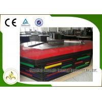 Wholesale Bridge Shape Upper or Down Fume Exhaustion Teppanyaki Grill Table With 11 Seats from china suppliers