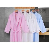 Wholesale Stripe Style Hotel Style Bathrobes Long Sleeve For Winter DT0016 from china suppliers