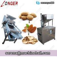 Buy cheap Almond Shelling and Slice Cutting Machine|Peanut Slicer Cutter Manufacturers China from wholesalers