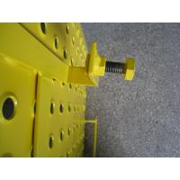 Wholesale Yellow Powder coated Scaffolding Steel Ladder Trap Door For Construction Protection from china suppliers