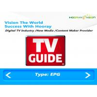 Wholesale IPTV OTT Electronic Program Guide Software DVB Digital TV System SI Insert from china suppliers