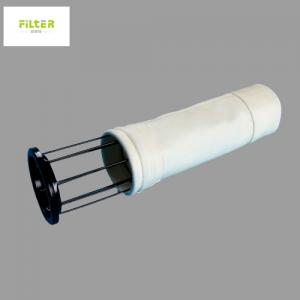 Wholesale High Temperature 550GSM Acrylic Baghouse Filter Bags White from china suppliers