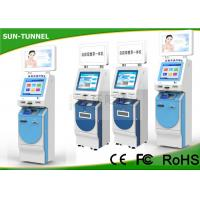 Wholesale Free Standing Hotel Lobby Kiosk Check In / Check Out Function 1.5mm Steel Enclosure from china suppliers