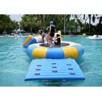 Wholesale China Inflatable Water Trampoline Water Sport Toys , Inflatable Water Games from china suppliers