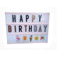 Wholesale A4 Personalised led cinematic light box from china suppliers