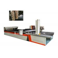 Wholesale Soft Material Cutter CNC Clothes Cutting Machine 4000rpm / Min Speed from china suppliers