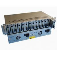 Wholesale 14 Slots Rack Metal Fiber Media Converters,Large power supply capacity from china suppliers