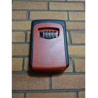 Wholesale Professional Security Wall Key Lock Box Outside , Wall Mounted Key Safes from china suppliers