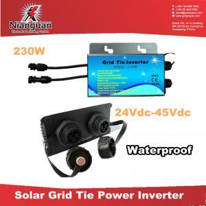 Wholesale 200W Waterproof Micro grid tie Inverter/Micro Solar Inverter, power inverter from china suppliers