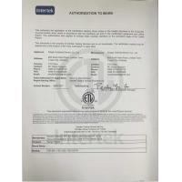 NINGBO FEISHIDA ELECTRIC CO.,LTD Certifications