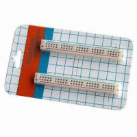 Wholesale 50 Tie-point Solderless Breadboard with 2-piece Distribution Strip  from china suppliers