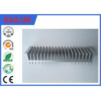 Wholesale Industrial Al 6063 T5 Aluminum Extruded Heat Sink With Silver Anodized Surface Treatment from china suppliers