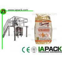 Wholesale Punch Grain Packaging Machine 1500 Watt Automatically with Multihead Weigher from china suppliers
