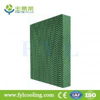 Wholesale FYL Green cooling pad/ evaporative cooling pad/ wet pad from china suppliers
