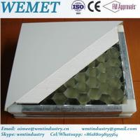 Wholesale Aluminum honeycomb manual panel for clean room anti-fire A class from china suppliers
