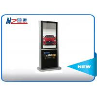 Wholesale 65 Inch Interactive Information Kiosk For Advertising , Floor Stand Touch Screen Terminal from china suppliers
