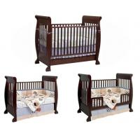 Buy cheap Good quality and durable New Zealand solid pine wood baby crib baby cot baby bed from wholesalers
