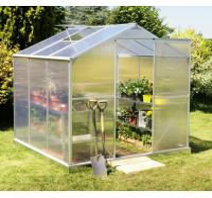 Wholesale Sunor Modular Aluminum Poly Sheet Backyard Greenhouse Kits For Tomato / Mushroom from china suppliers