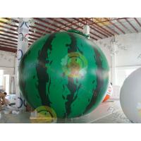 Wholesale Inflatable product balloon, 4m Watermelon 0.28mm helium quality PVC Advertising Helium BalloonsBAL-35 from china suppliers