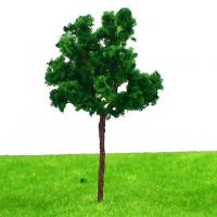 Quality 7cm Plastic Miniature Model Trees , Scenery Landscape Train Model Trees Scale 1:100 G7035 for sale