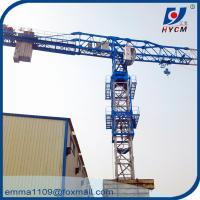 Wholesale QTZ125 PT6016 Mobile Tower Crane 60m Boom 10 Tons 50m Height Price from china suppliers