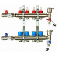 Wholesale manifold with flow meter for under floor heating system from china suppliers
