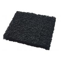 Wholesale ISO9001 10 - 60 ppi Granular Activated Carbon Air Filter Media With High Carbon Content from china suppliers