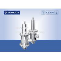 """Wholesale 1.5 """"High purity Pressure Safety Valve L type Clamped Connection from china suppliers"""