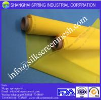 Wholesale screen printing on polyester mesh 72T white/yellow 100% polyester bolting cloth from china suppliers