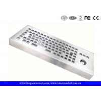 Wholesale Vandalism Industrial Computer Desktop Metal Keyboard With Trackball from china suppliers