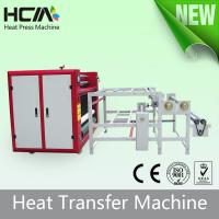 Wholesale Touch Screen Oil Heating Rotary T Shirt Transfer Press Machines With Digital Controller from china suppliers