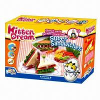 Buy cheap Super Sandwiches Educational Toy, Made of Flour from wholesalers