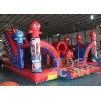 Wholesale Digital Printing Funny Inflatable Bouncer Spider Man Playground For Rental Park from china suppliers
