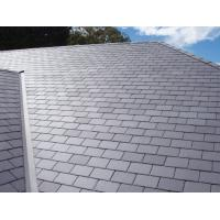 Wholesale Hubei Gray Slate Roof Tiles Grey Roofing Slate 400x200 400x250 500x250mm from china suppliers