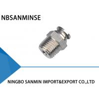 Wholesale SSPC SS316L Stainless Steel Air Fittings , Air Compressor Hose Fittings from china suppliers