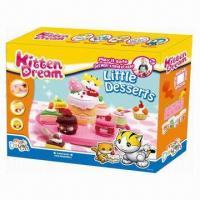 Quality Little Desserts Educational Toy, Made of Flour, Non-toxic, Kids' DIY Set/Develop Intelligence  for sale
