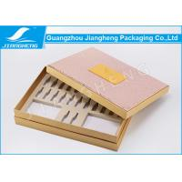 Wholesale PU Leather Hardcover Storage Unique Packaging Boxes For Cosmetics / Makeup Set from china suppliers