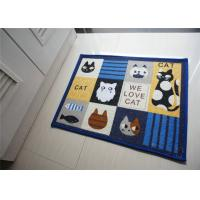 Wholesale Square Skidproof household Decorative Door Mats of Recycled cotton from china suppliers